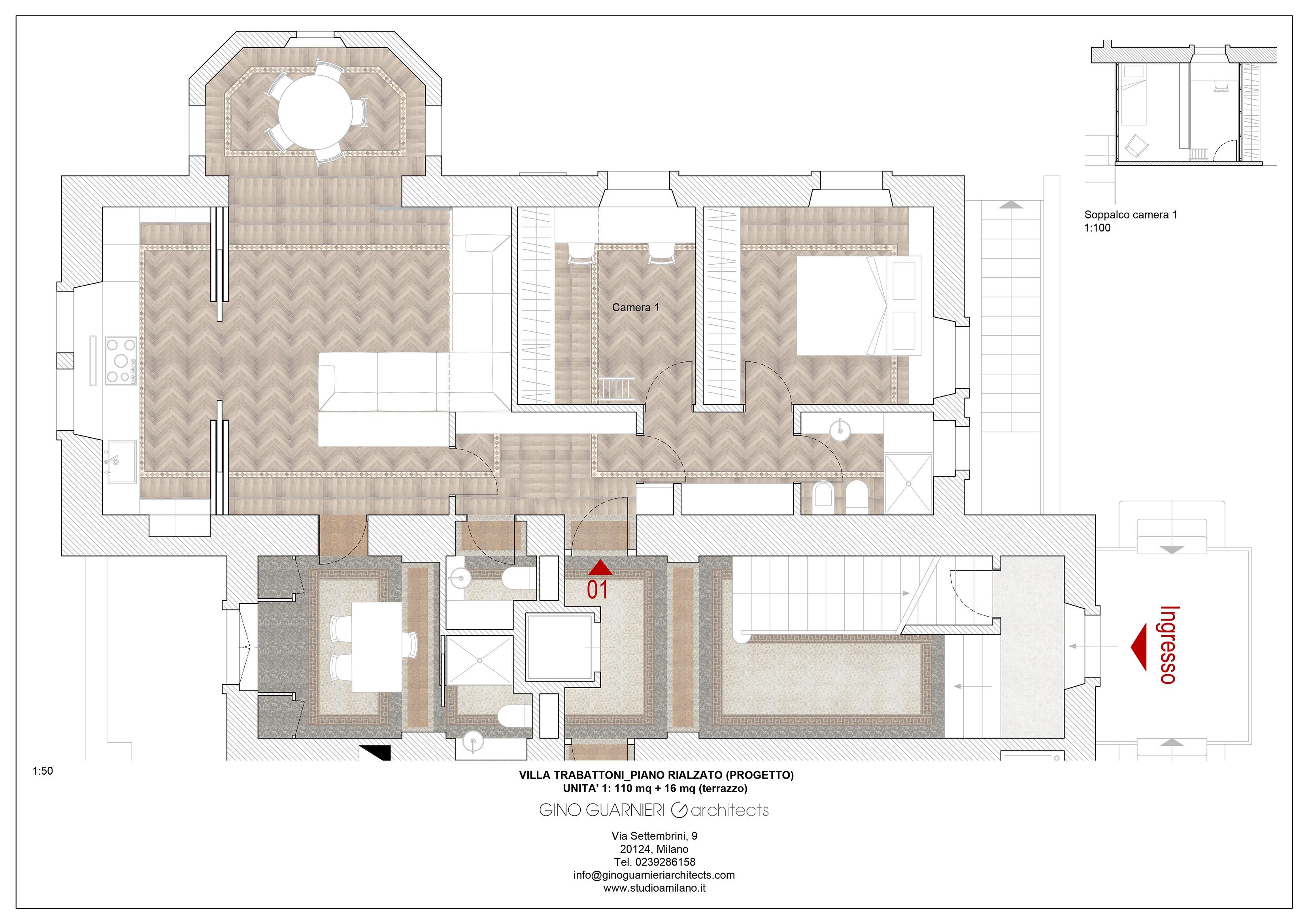 piano rialzato appartamento nr 1