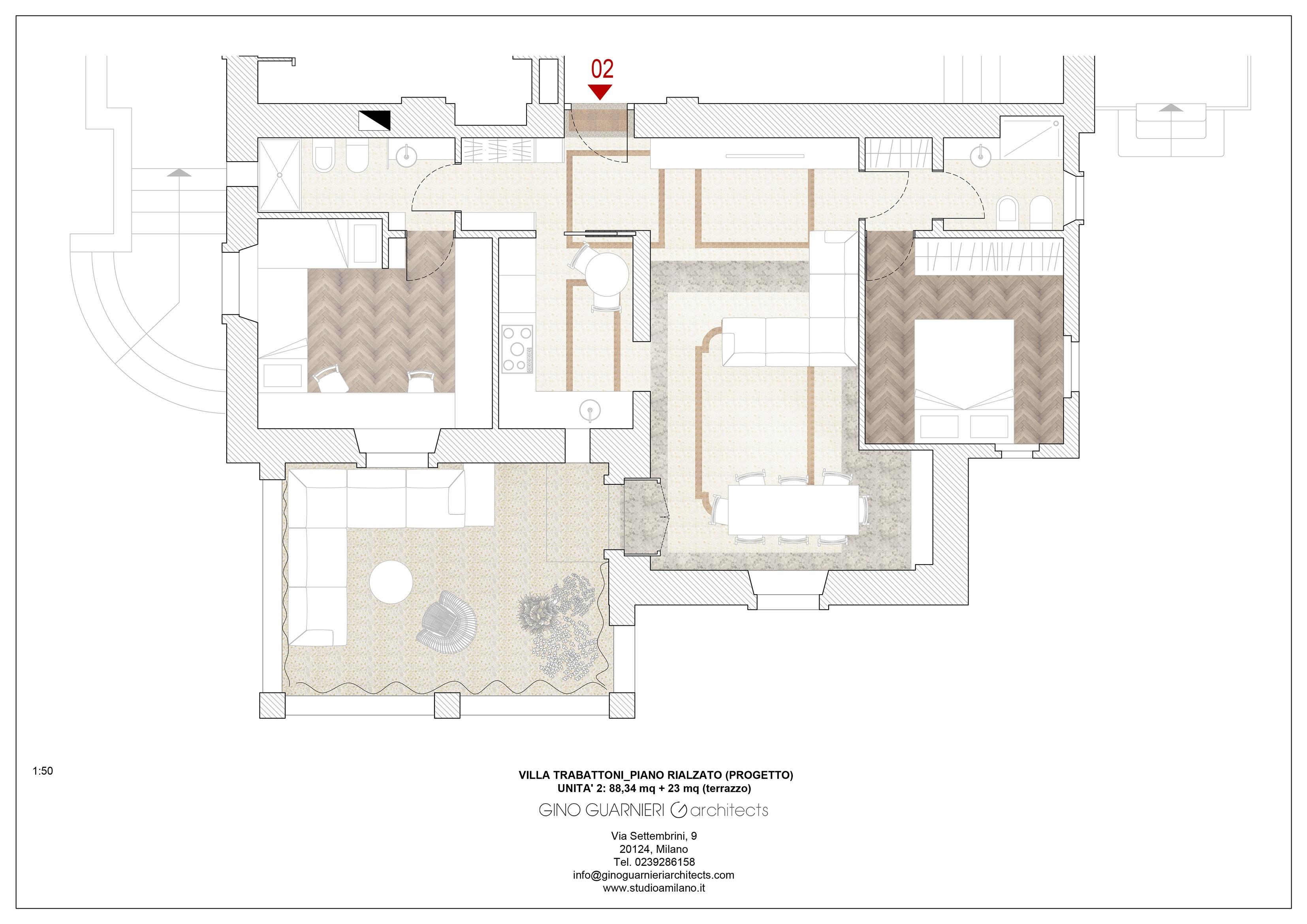 piano rialzato appartamento nr 2