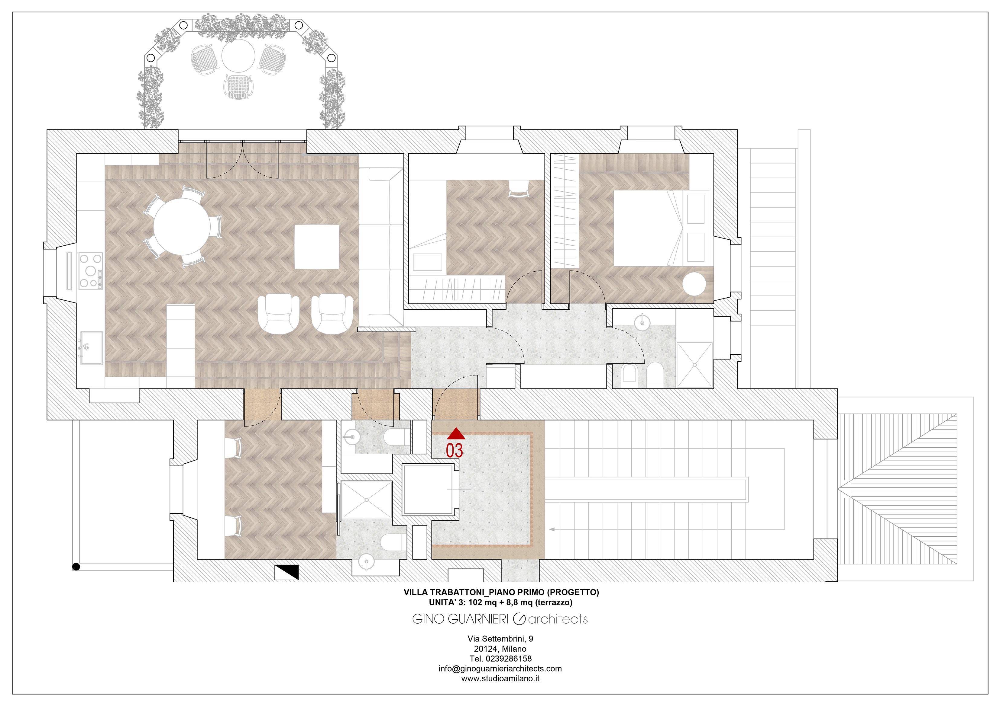 piano primo appartamento nr 3