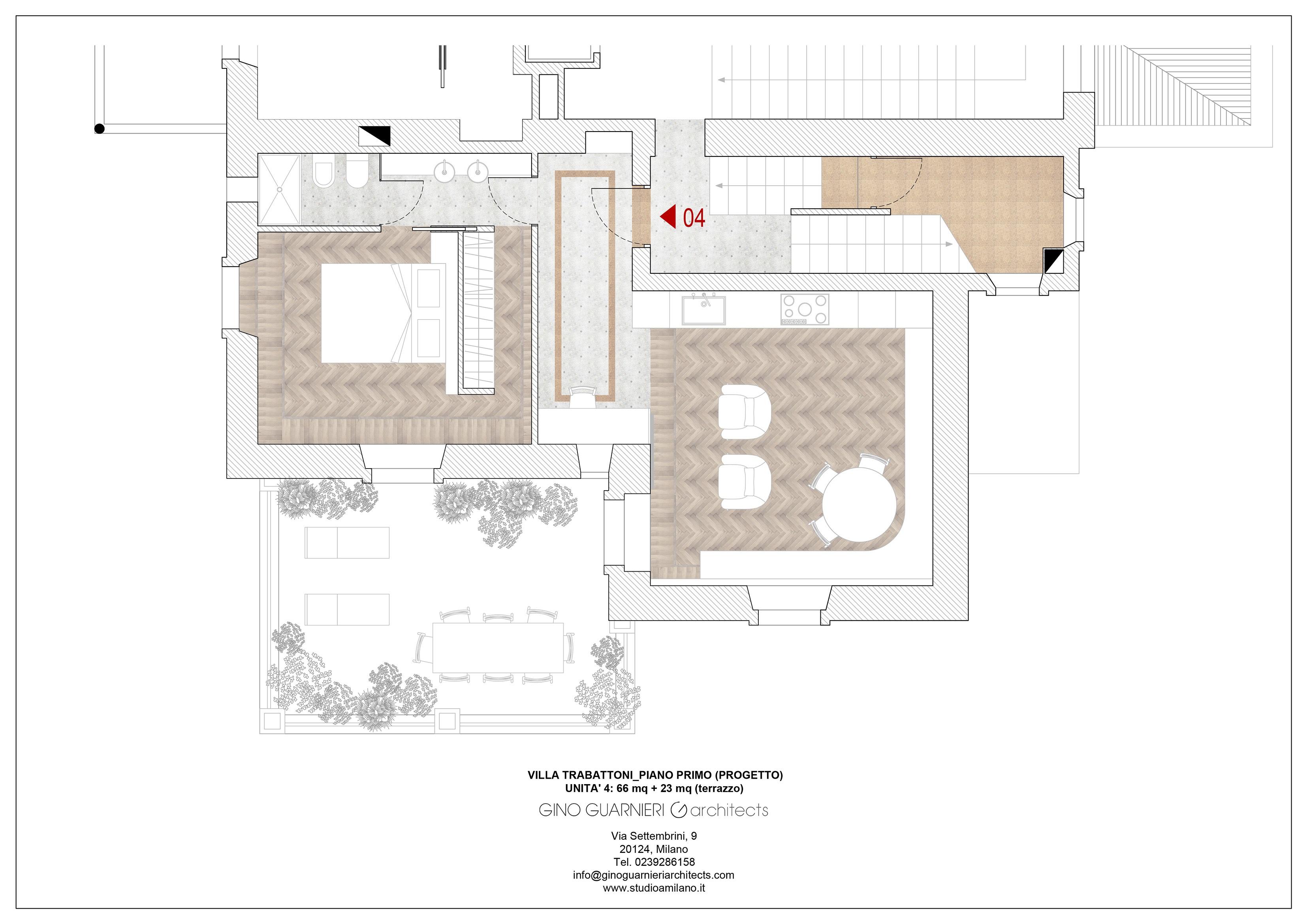 piano primo appartamento nr 4