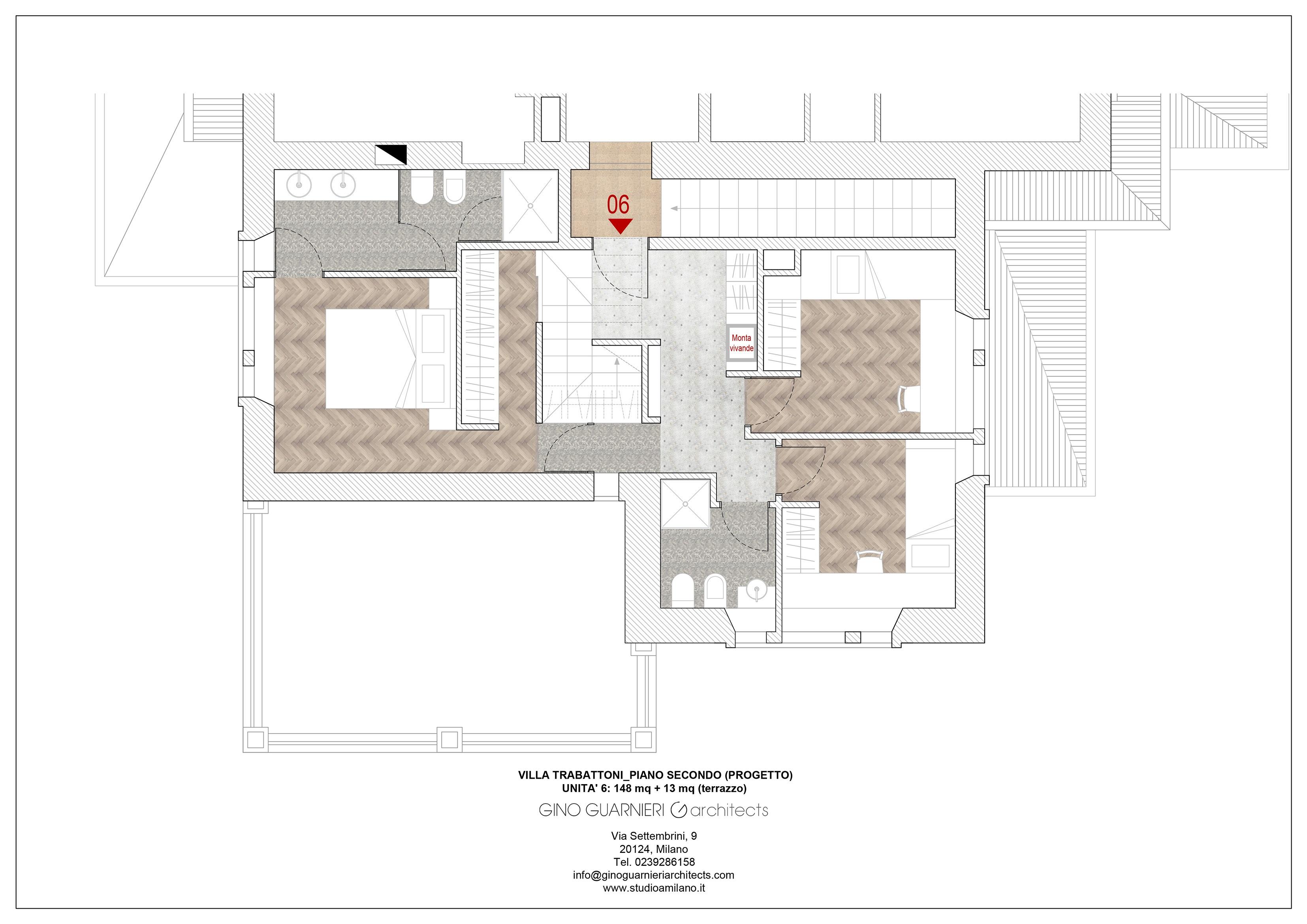 piano secondo appartamento nr 6