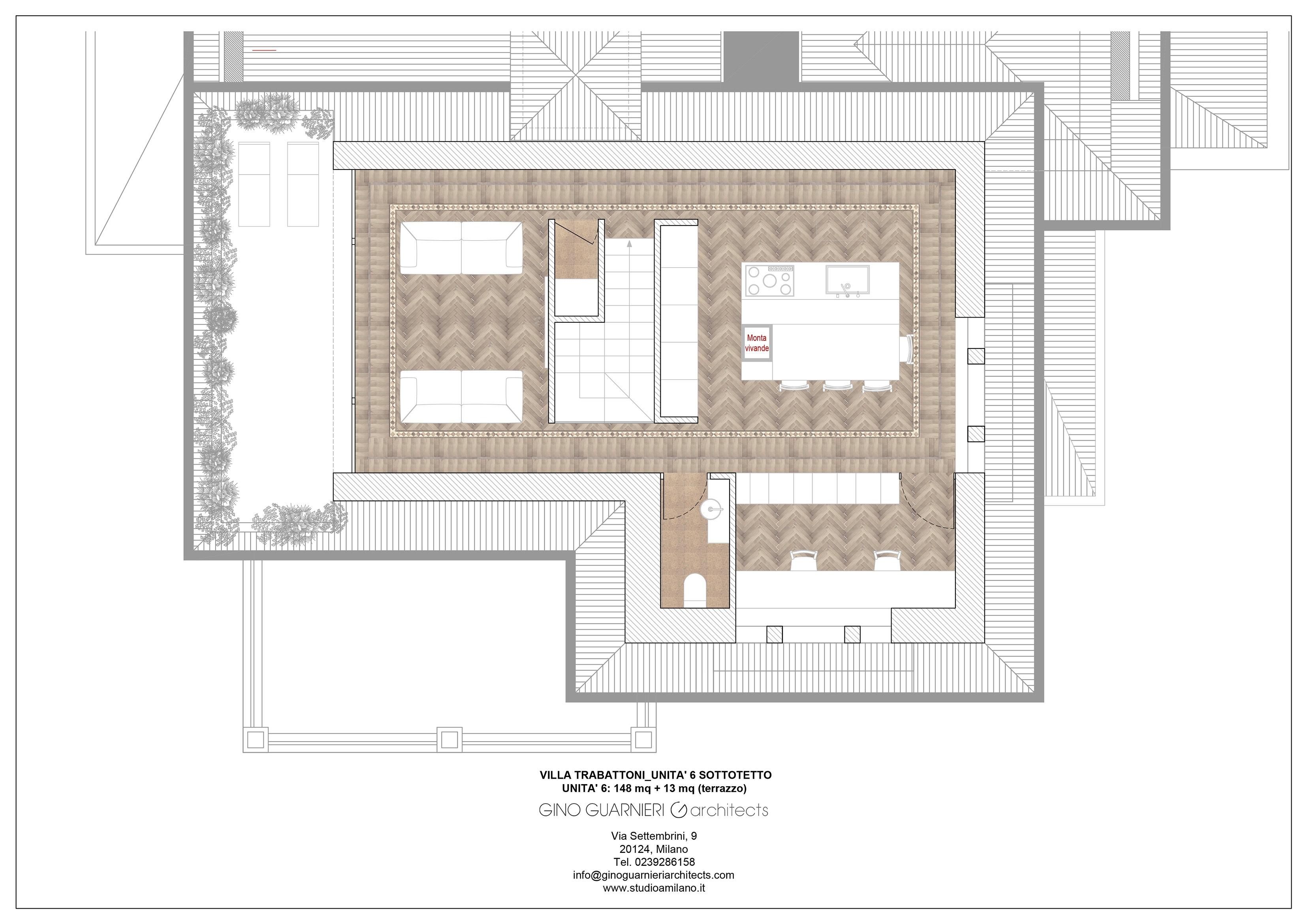 piano terzo appartamento nr 6